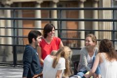 Étudiants sur la Terrasse - Centre Laennec Paris - Prépa médecine