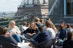 Vue depuis la terrasse - Centre Laennec Paris - Prépa médecine